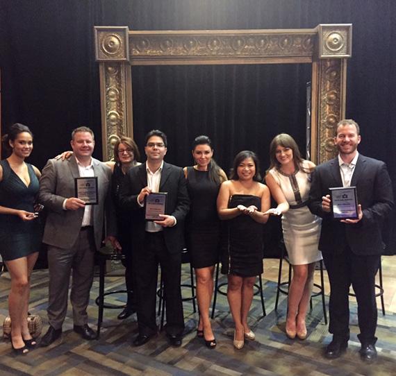 Bucci Team at SAM Awards